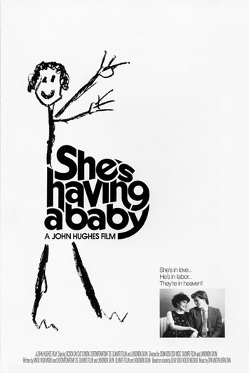 She's Having a Baby Movie Poster Design
